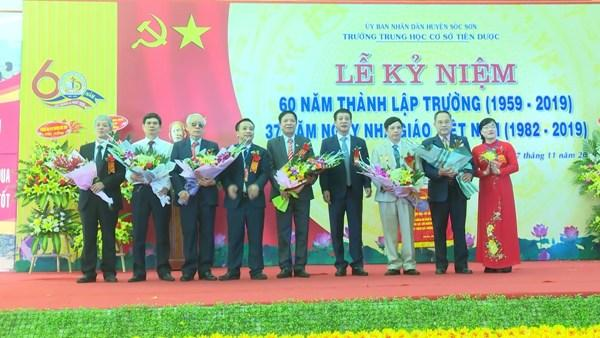 truong-thcs-tien-duoc-ky-niem-60-nam-ngay-thanh-lap